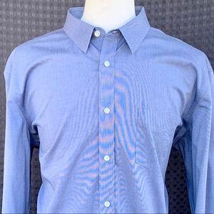 UNTUCKit Grey Bitton Fown Dress Shirt. XXXL